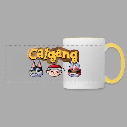 Animal Crossing CatGang - Panoramatasse