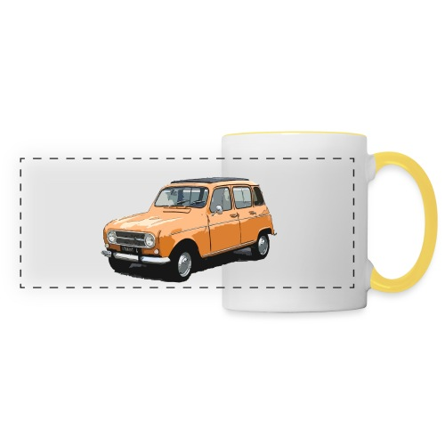 My Fashion 4l - Mug panoramique contrasté et blanc