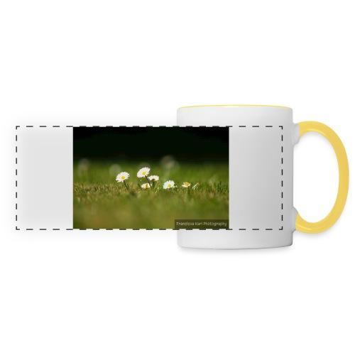 Daisies - Panoramic Mug