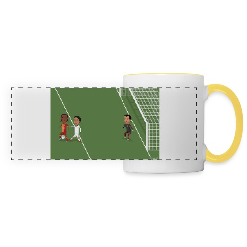Backheel goal BG - Panoramic Mug
