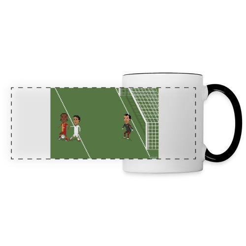 Backheel goal BG - Panoramic Mug