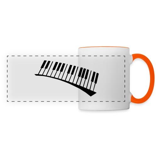 Piano - Taza panorámica