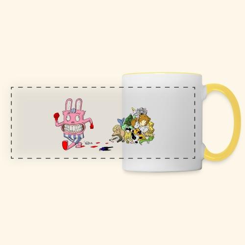 tasse - Mug panoramique contrasté et blanc