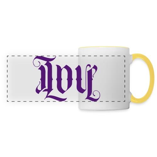 Love and hate - Panoramic Mug