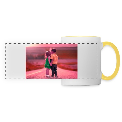 Full HD with hd love - Panoramic Mug