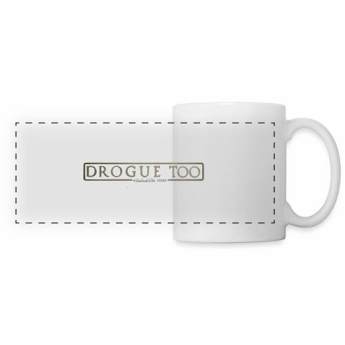 drogue too - Mug panoramique contrasté et blanc