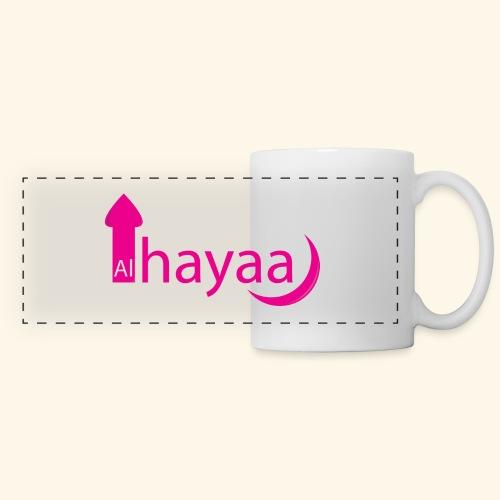 Al Hayaa - Mug panoramique contrasté et blanc