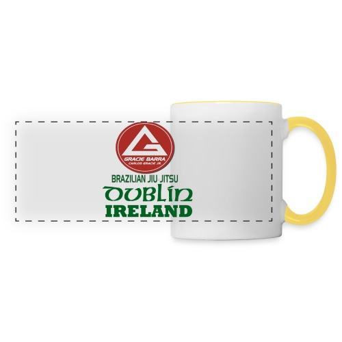 Gracie Barra Dublin Gaelic Celtic Font PNG - Panoramic Mug