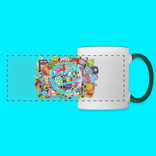 maglia logo doodle - Tazza con vista