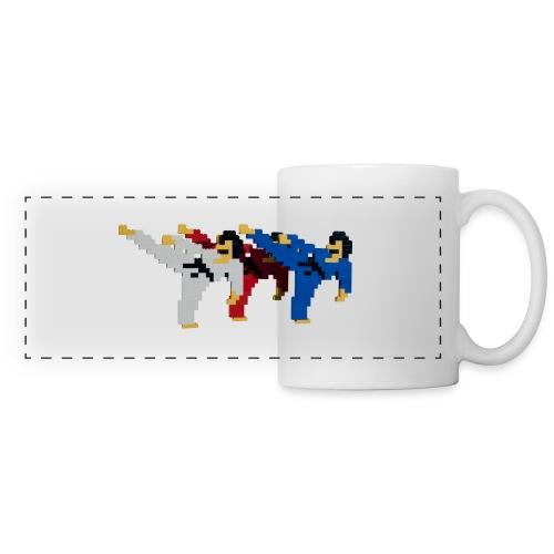 8 bit trip ninjas 2 - Panoramic Mug