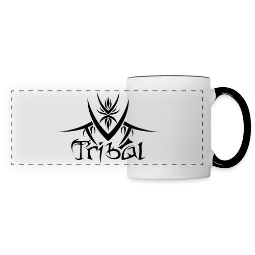 Motif Tribal 1 - Mug panoramique contrasté et blanc