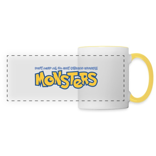 Monsters - Panoramic Mug