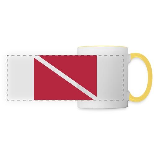 Diver Flag - Panoramic Mug