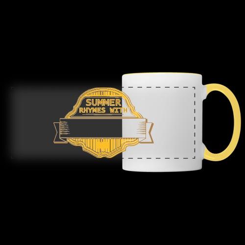CUSTOMIZE SUMMER RHYMES with - Panoramic Mug