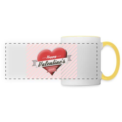 happy valentines day - Panoramic Mug