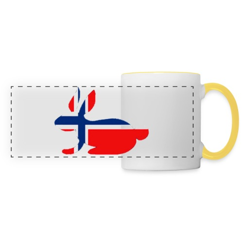 norwegian bunny - Panoramic Mug