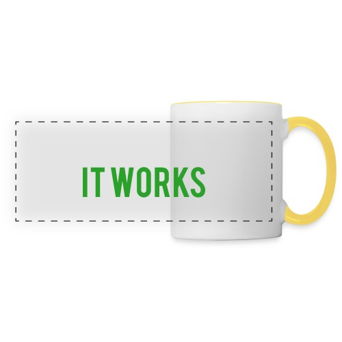 It works on my machine Funny Developer Design - Panoramic Mug