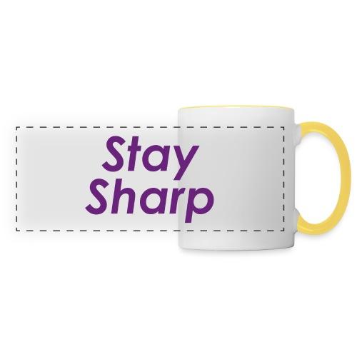 Stay Sharp - Tazza con vista