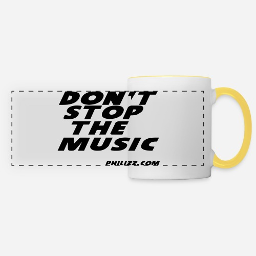dontstopthemusic - Panoramic Mug