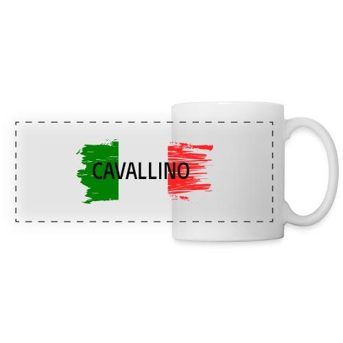 Cavallino auf Flagge - Panoramatasse