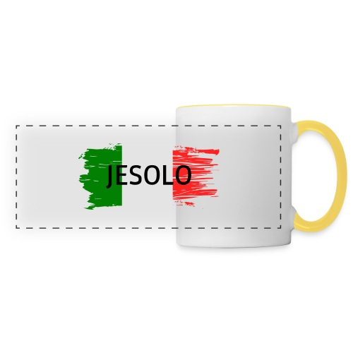 Jesolo auf Flagge - Panoramatasse