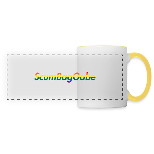 ScumBagGabe Multi Logo XL - Panoramic Mug