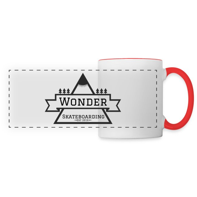 Wonder hoodie no hat - Mountain logo