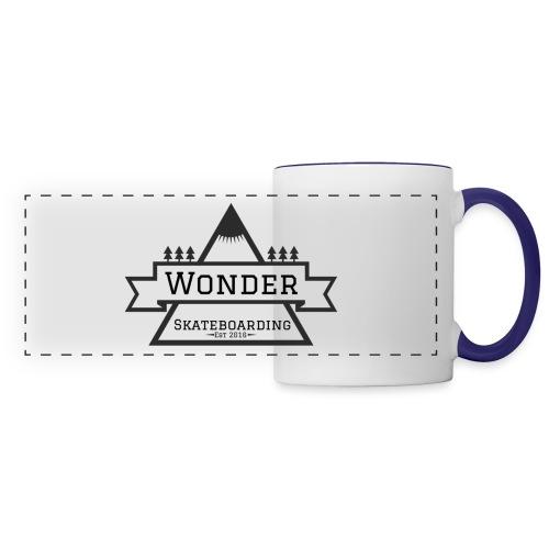 Wonder T-shirt: mountain logo - Panoramakrus