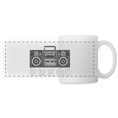 Ghetto blaster by LSDV - Mug panoramique contrasté et blanc