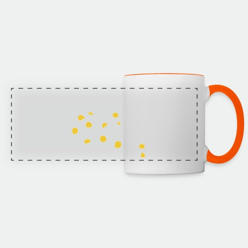 Spring Season Daisies - Panoramic Mug