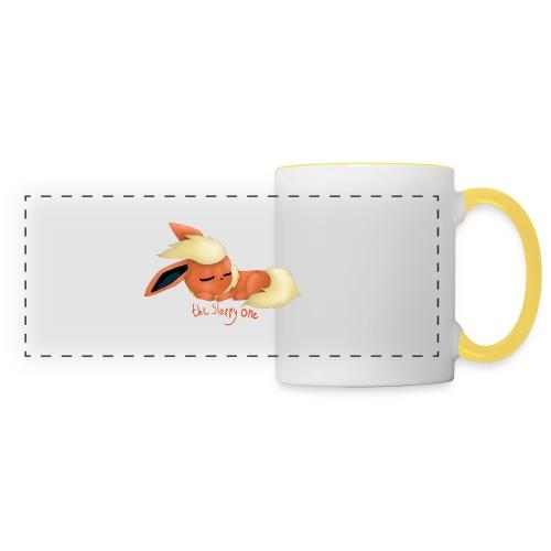 eevee - flareon - the sleppy one - Panoramic Mug