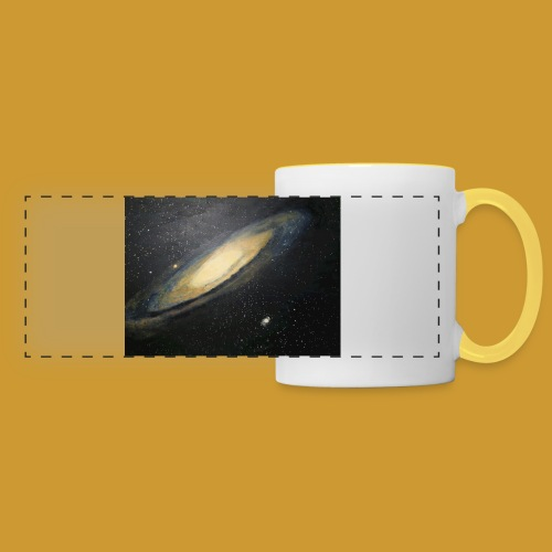 Andromeda - Mark Noble Art - Panoramic Mug