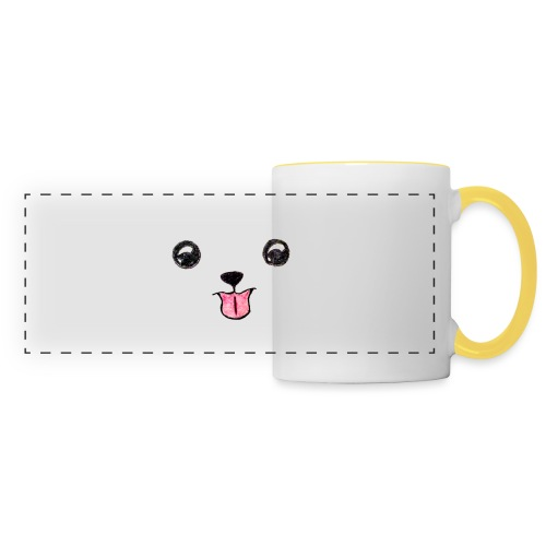 Cutie Pup - Panoramic Mug