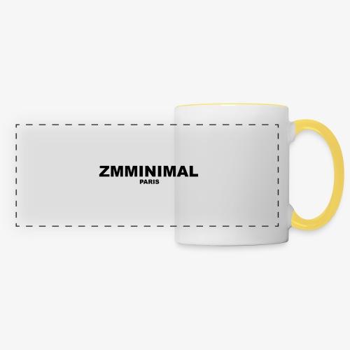 ZMMINIMAL - Mug panoramique contrasté et blanc
