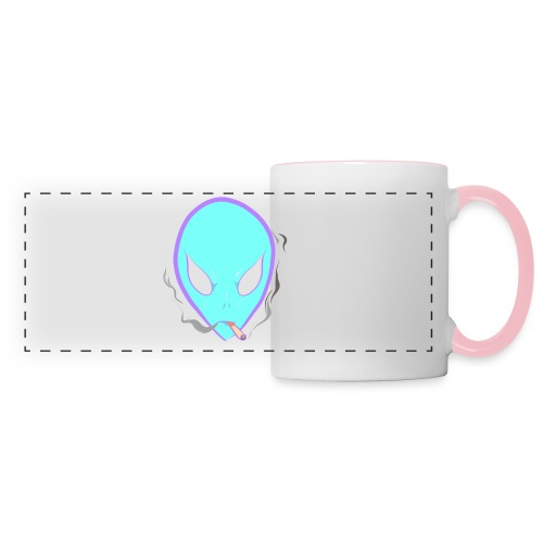 People alienate me. I'm out of this world - Panoramic Mug