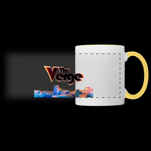 The Verge Gob. - Mug panoramique contrasté et blanc