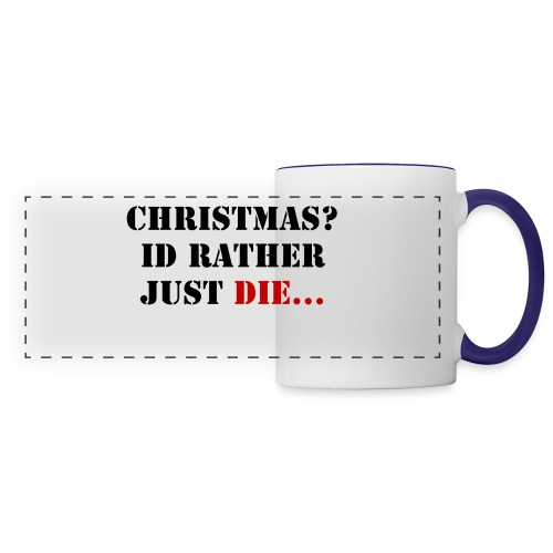 Christmas joy - Panoramic Mug