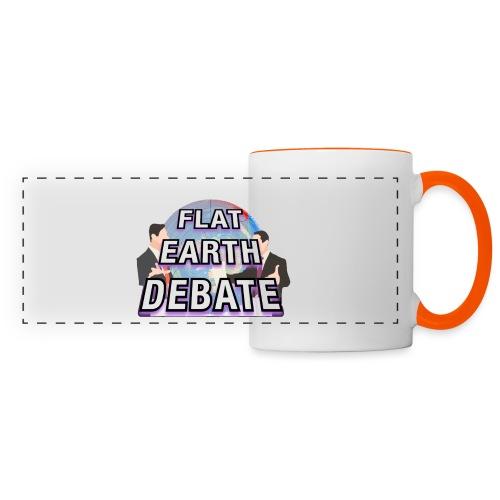 Flat Earth Debate - Panoramic Mug