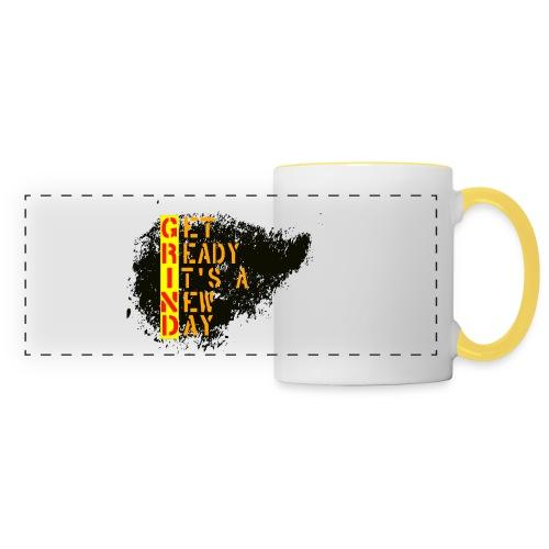 New Fresh Day - Mug panoramique contrasté et blanc