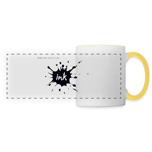 Ink Logo and website - Panoramic Mug