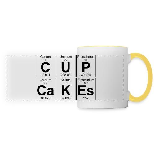 C-U-P-Ca-K-Es (cupcakes) - Full - Panoramic Mug