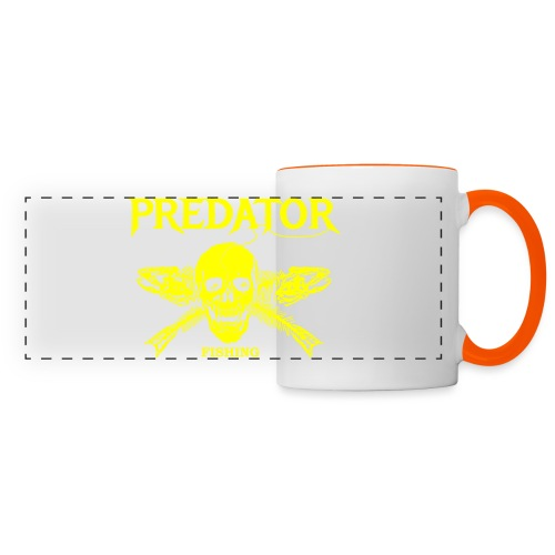 Predator fishing yellow - Panoramatasse
