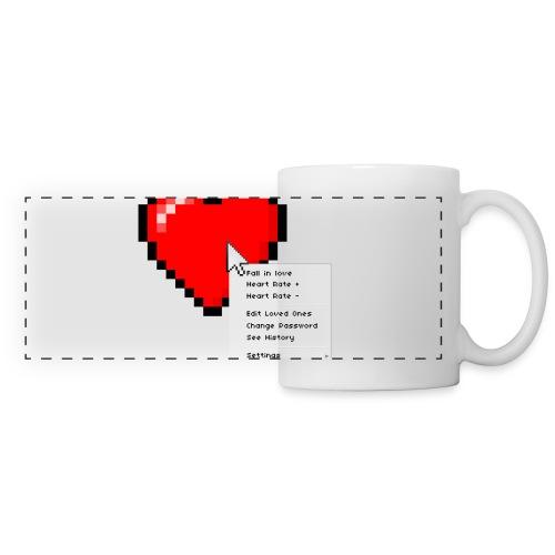Options of the heart on a mug - Panoramakrus