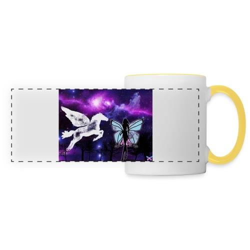 Pegase - Mug panoramique contrasté et blanc