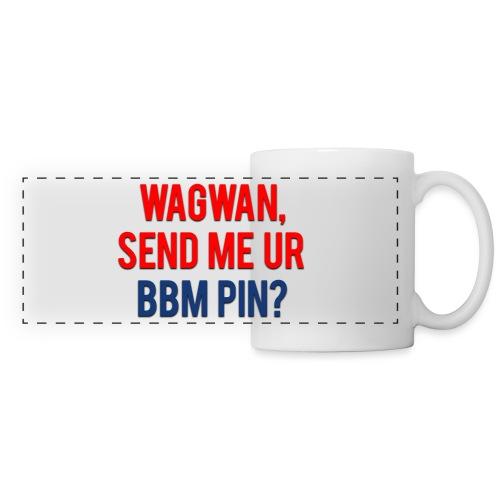 Wagwan Send BBM Clean - Panoramic Mug