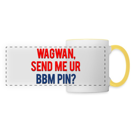 Wagwan Send BBM Clean - Panoramic Mug