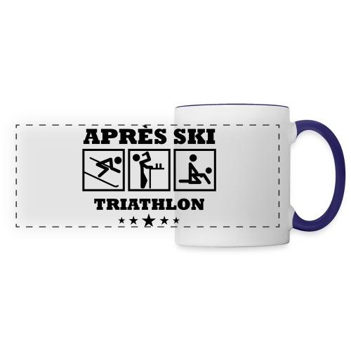 Apres Ski Triathlon | Apreski-Shirts gestalten - Panoramatasse