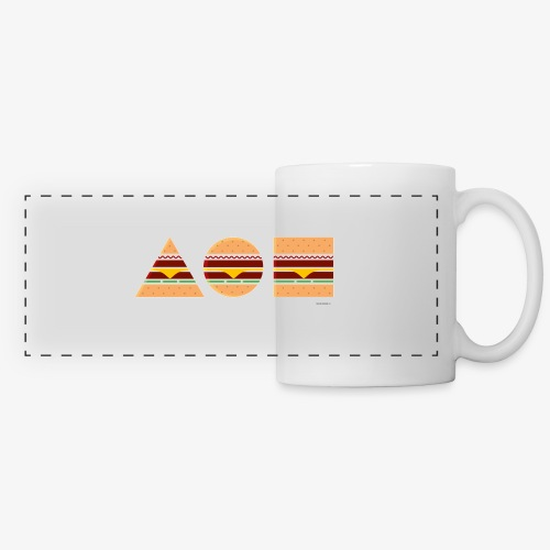 Graphic Burgers - Tazza panoramica