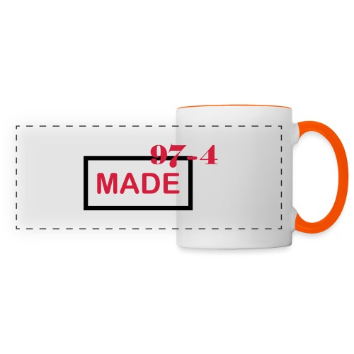 Design made in 974 - Mug panoramique contrasté et blanc
