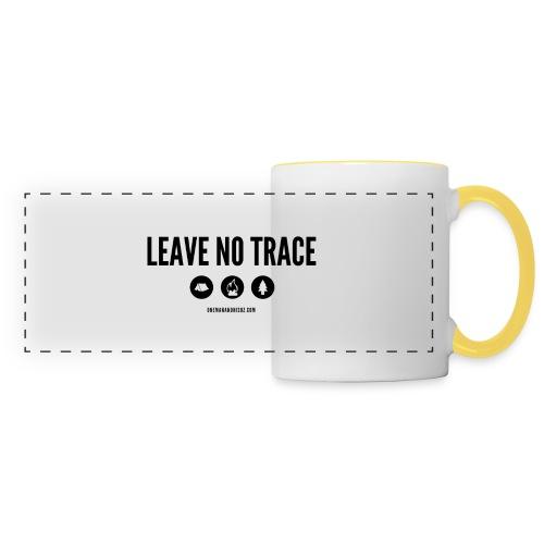 LEAVE NO TRACE Slogan - Panoramic Mug